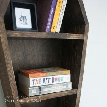 BlackCraft – Coffin Book Shelf on Etsy