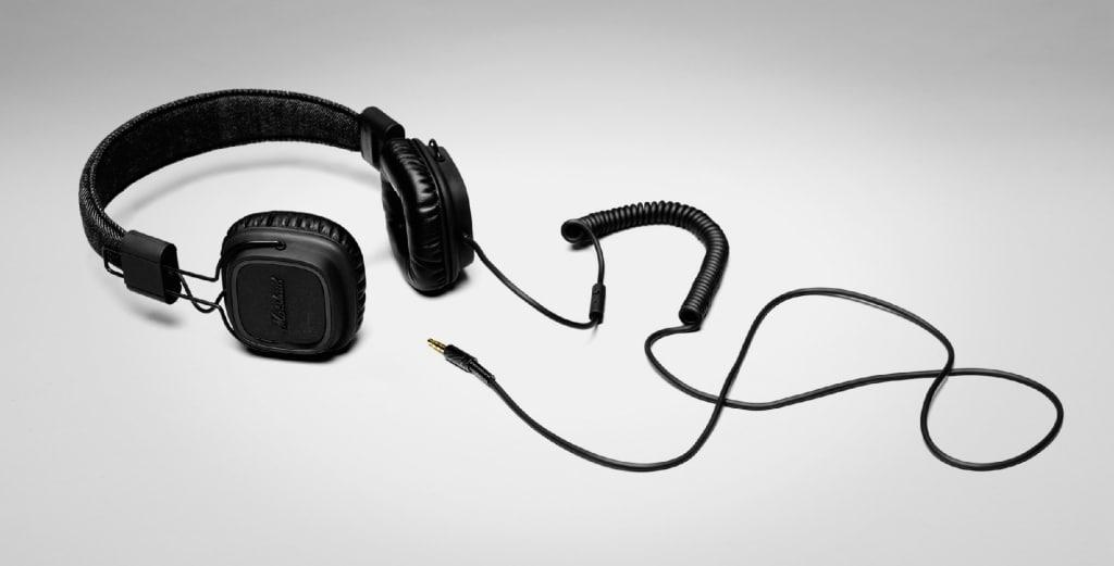 Major Pitch Black © Marshall Headphones