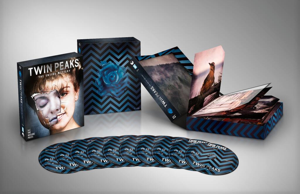 Twin Peaks blu ray coming out July 29, 2014